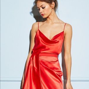 62b59ced0b921a Fleur Du Mal Dresses - Fleur du Mal Red Dress
